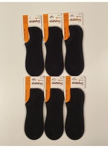 Dündar Unisex Sneaker Çorap Modal Dikişsiz 6'Lı Pembe